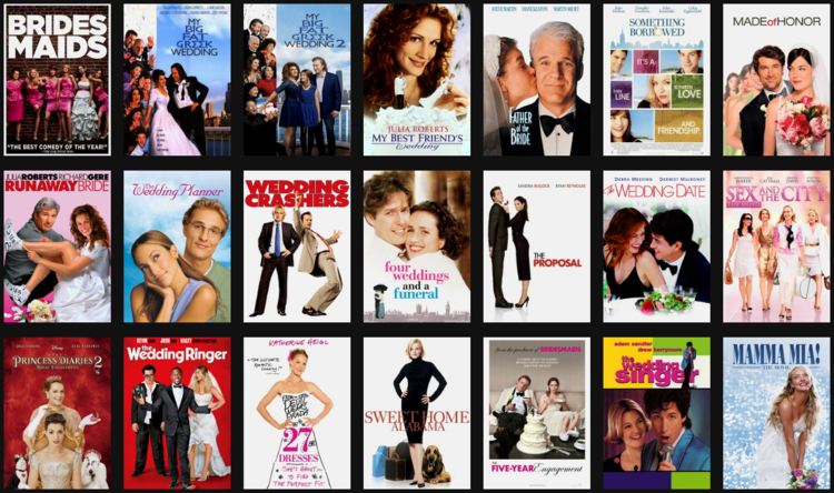 Best Wedding Movies.Wedding Movies Just Say I Do Netflix Dvd Blog