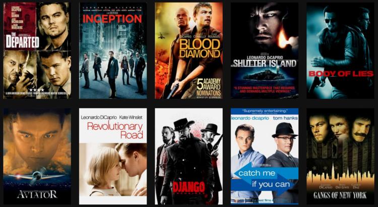 top 20 filme leonardo dicaprio