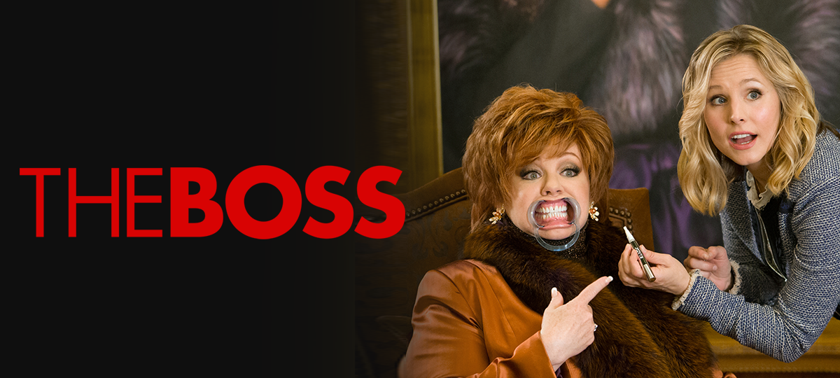 Rent The Boss DVD and Blu-ray