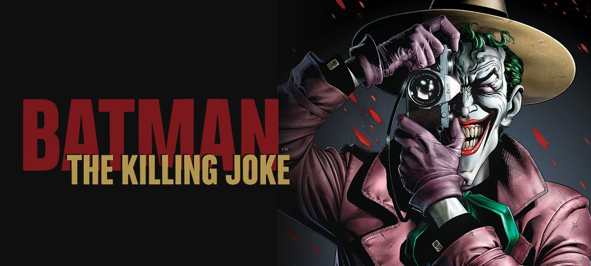 Rent Batman: The Killing Joke DVD
