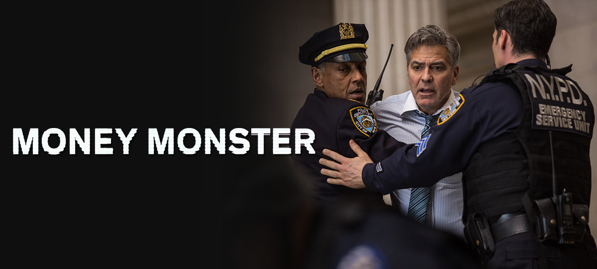 Money Monster DVD and Blu-ray