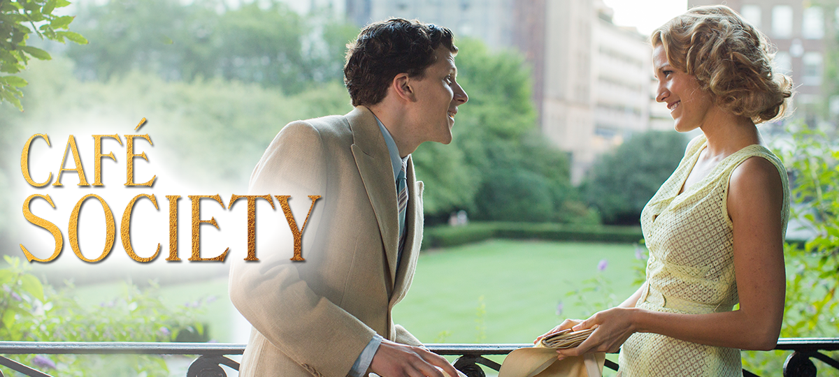 Rent Cafe Society DVD