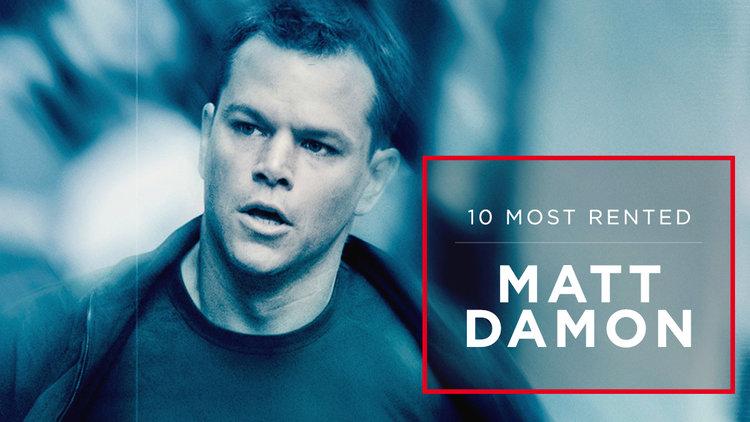 10 Most Rented Matt Damon Movies - Netflix DVD Blog