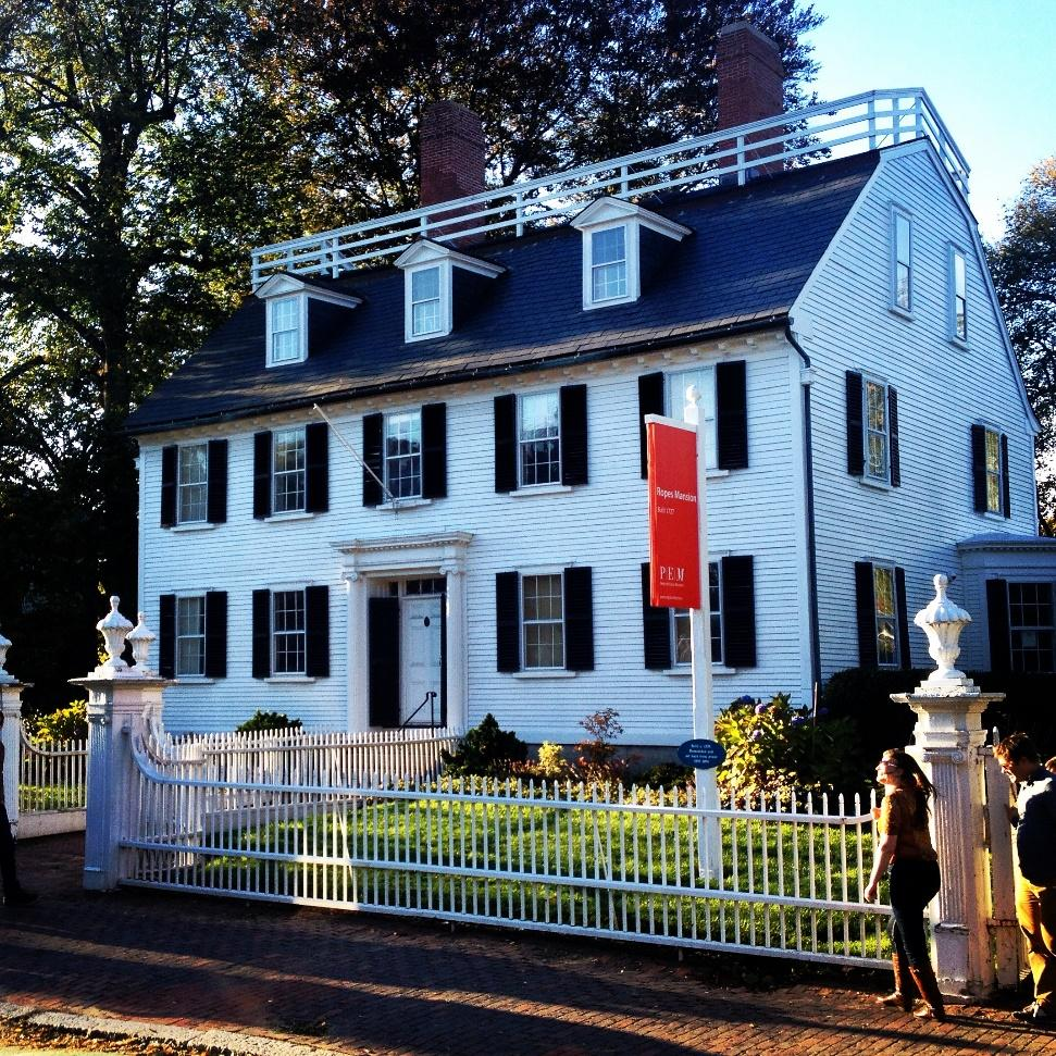 Home from the house party scene in Hocus Pocus. Salem, MA.  Dani's love interest, Allison's home in the movie Hocus Pocus. It's actually my dream home!