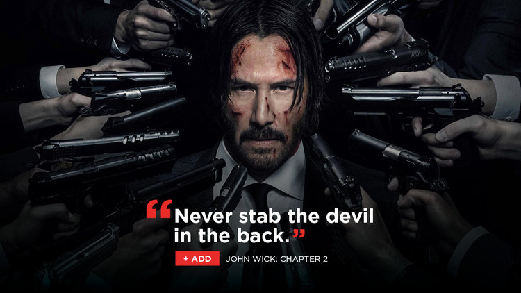 John Wick Chapter 2 And Our Favorite Revenge Movies Netflix Dvd Blog