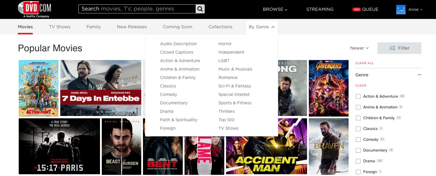 1. Choose a genre you like.