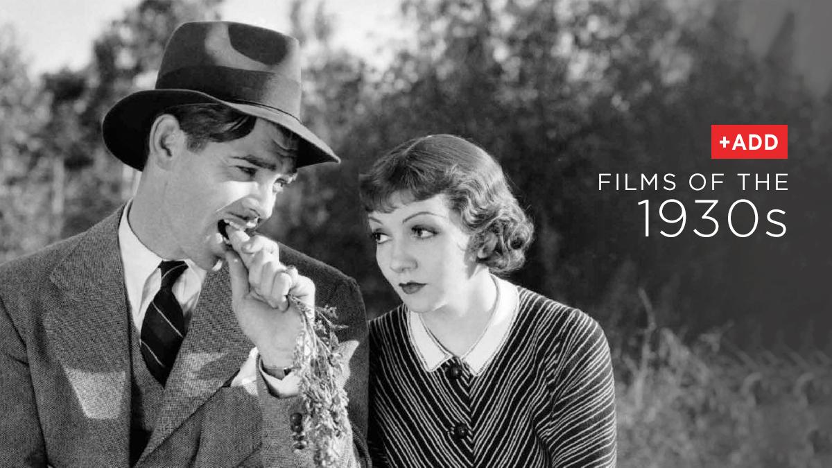 Films Of The 1930s Netflix Dvd Blog