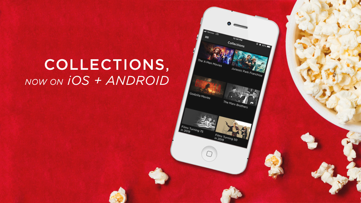 Collections in DVD Netflix app