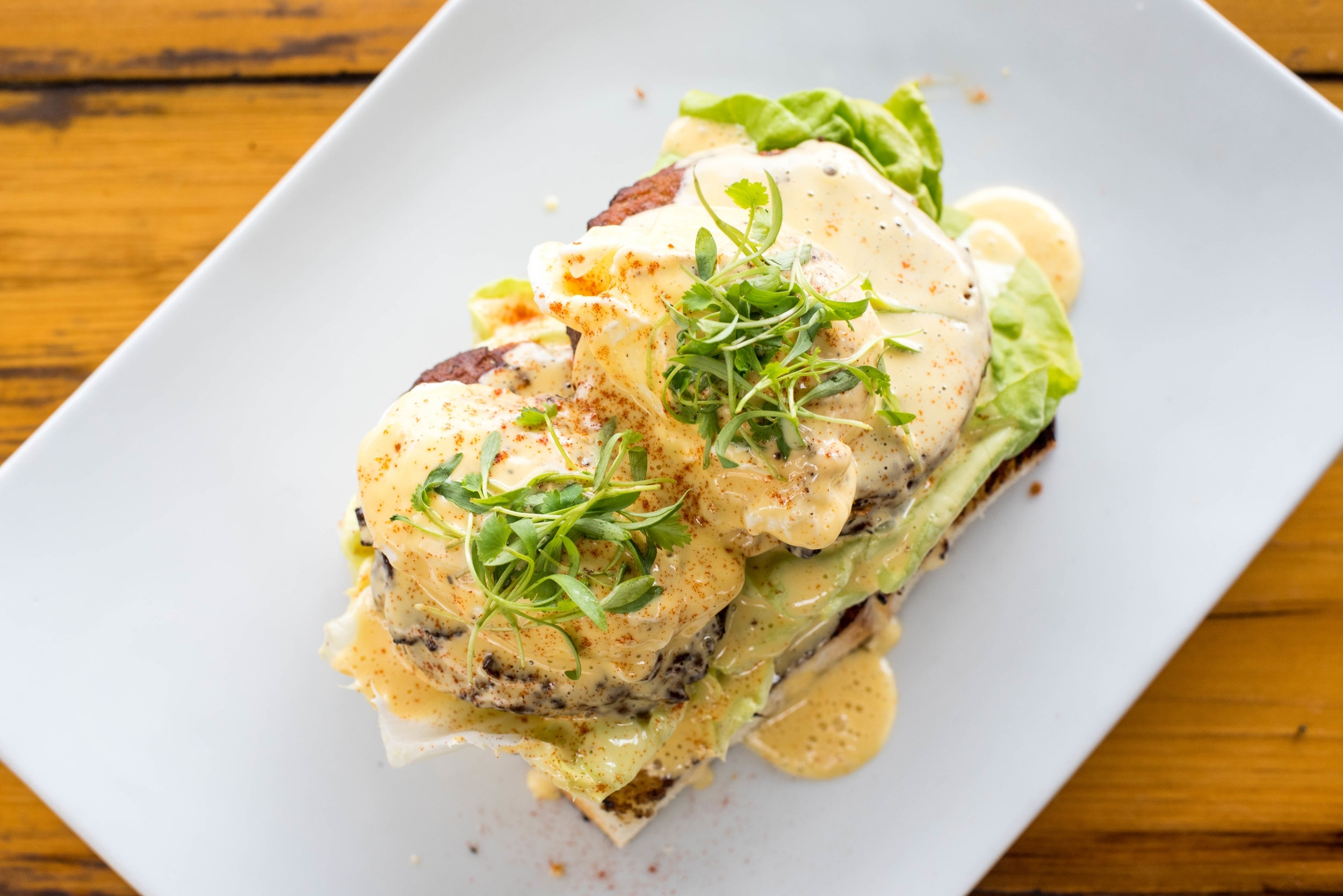Fried Green Tomato Benny