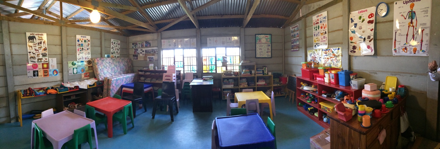 2014: Renovations continue at Vusumzi and Langbos Creche and Care Centre