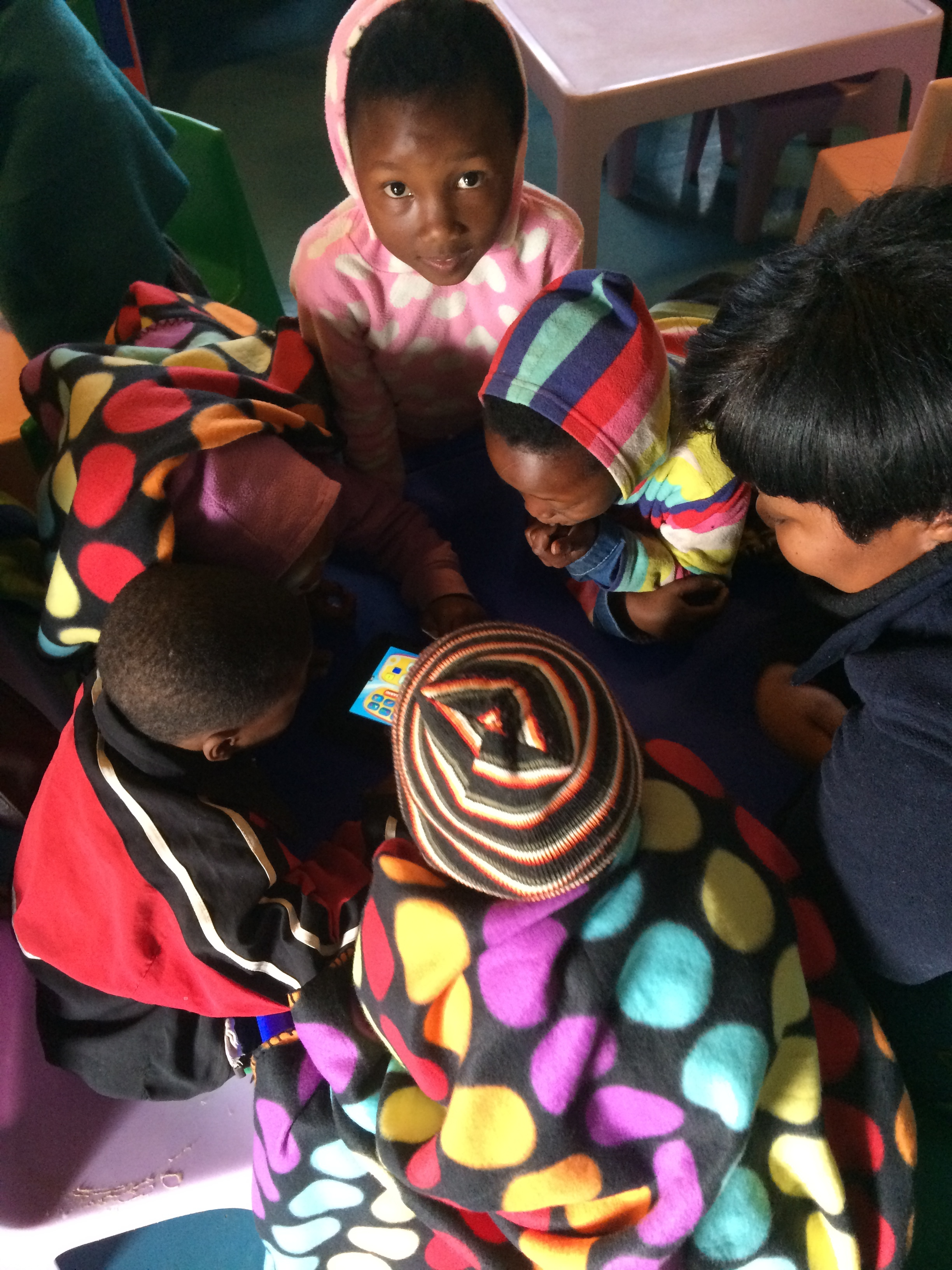 2014: 20 Kindle tablets delivered to Langbos Creche and Care Centre