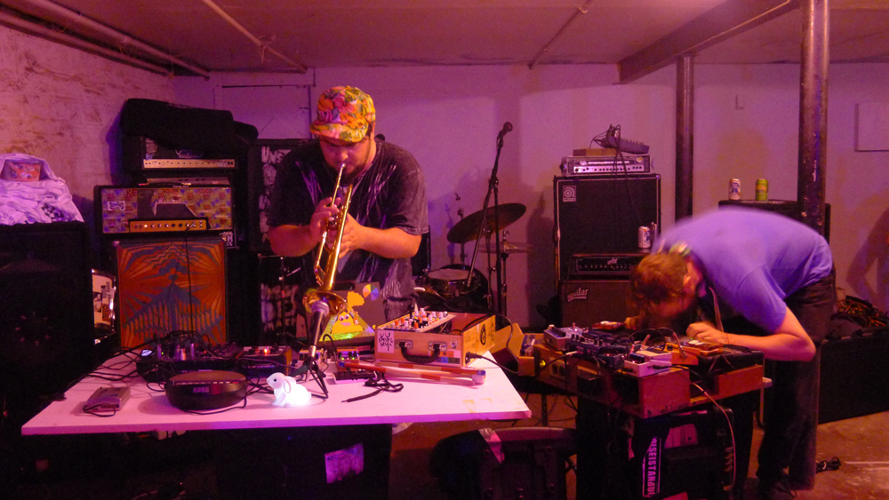 Sun Color + G. Lucas Crane Live @ Rare Form Brooklyn NY 2013