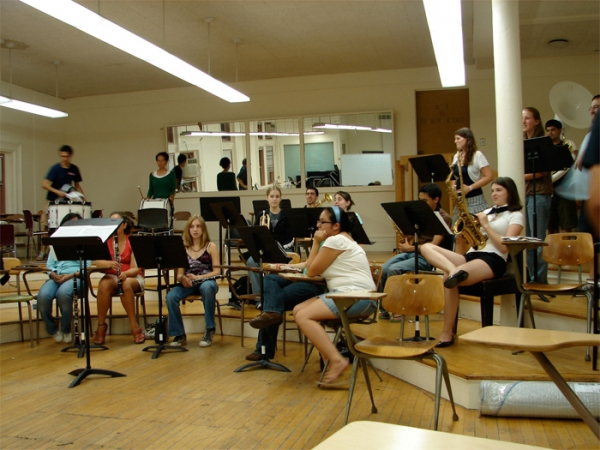 M  etting and rehearsal with CUMB at Columbia Univeristy New York