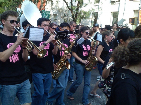 CUMB at the ART PARADE