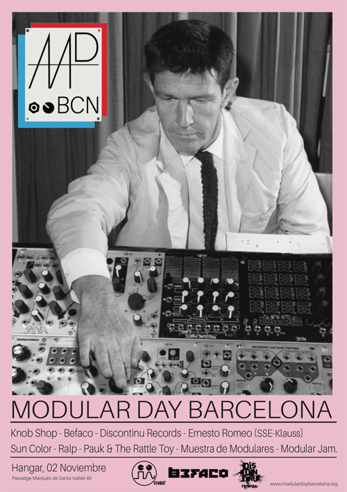 MODULAR DAY (Barcelona's Synth Festival) Poster of Edition 1 (2014)