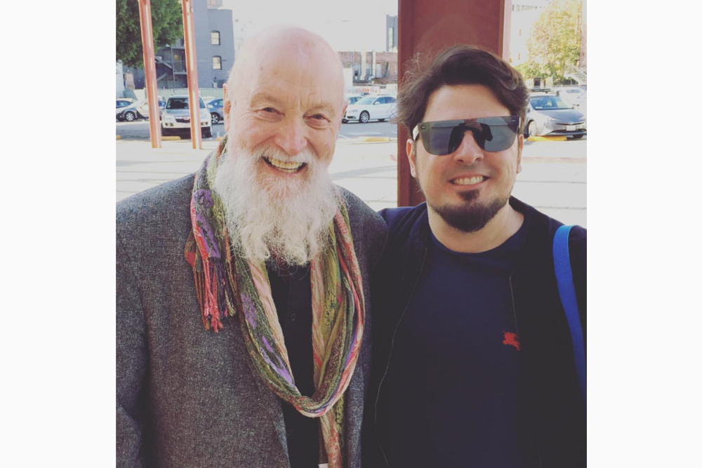 with the great Terry Riley!