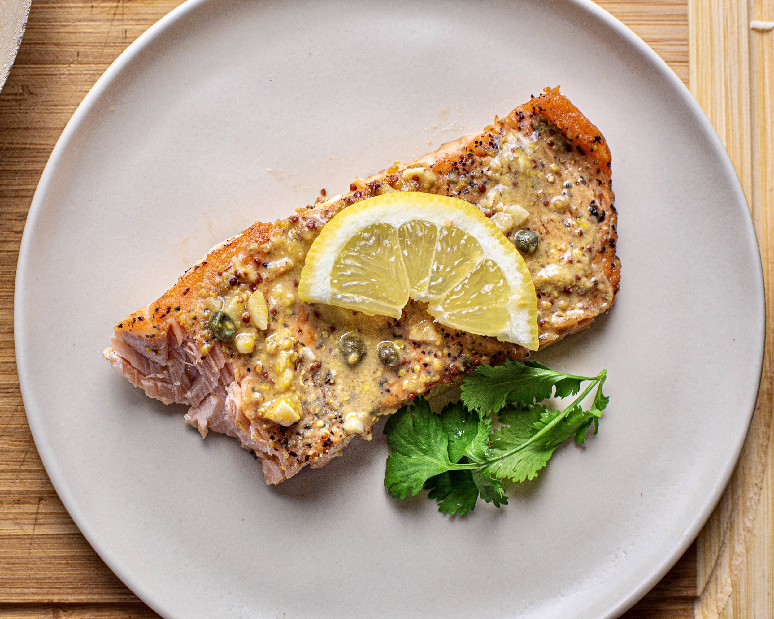 Honey Dijon Salmon -