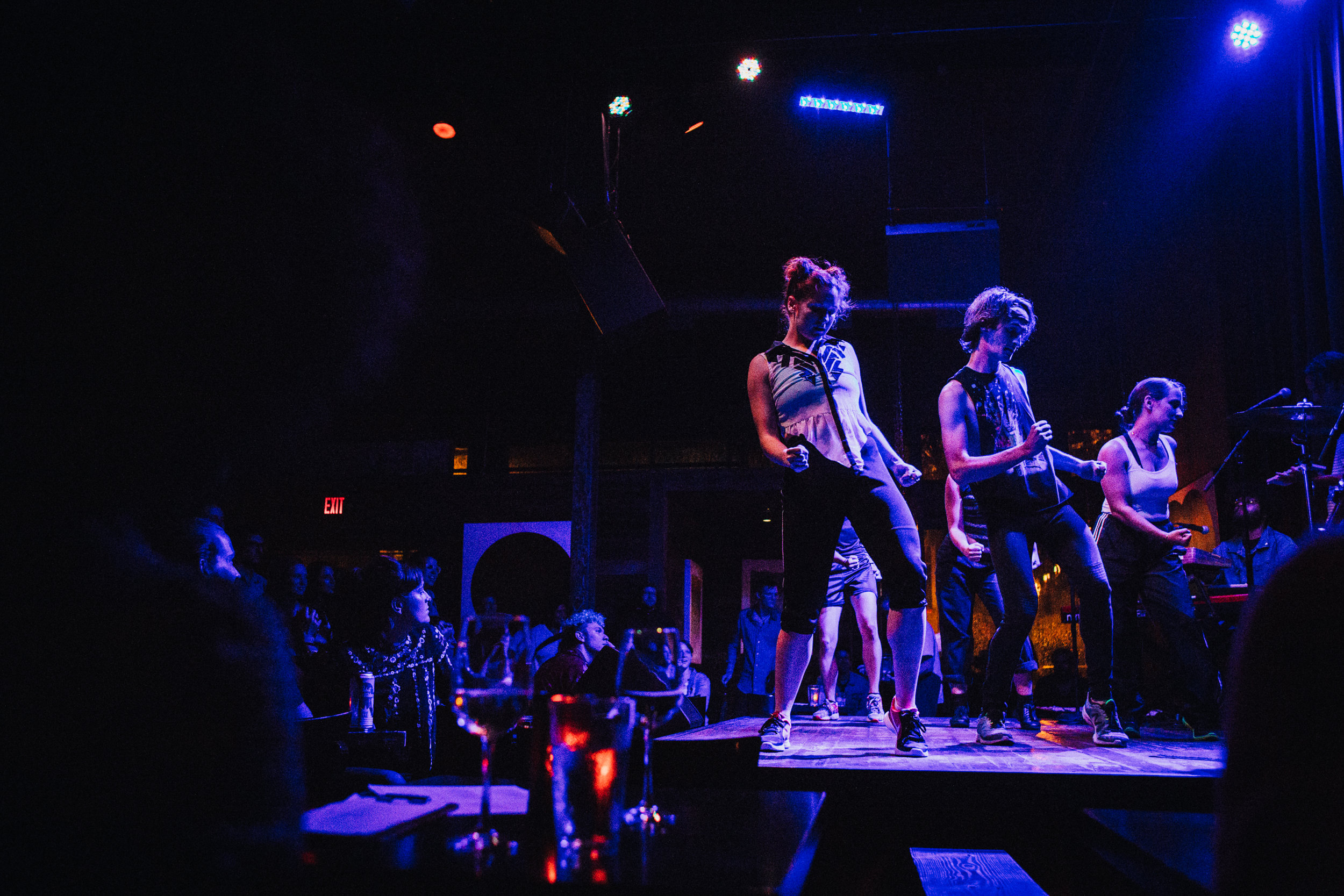 Audiences and performers connect at our first Bar Music Concert. Photo Emmet Kowler