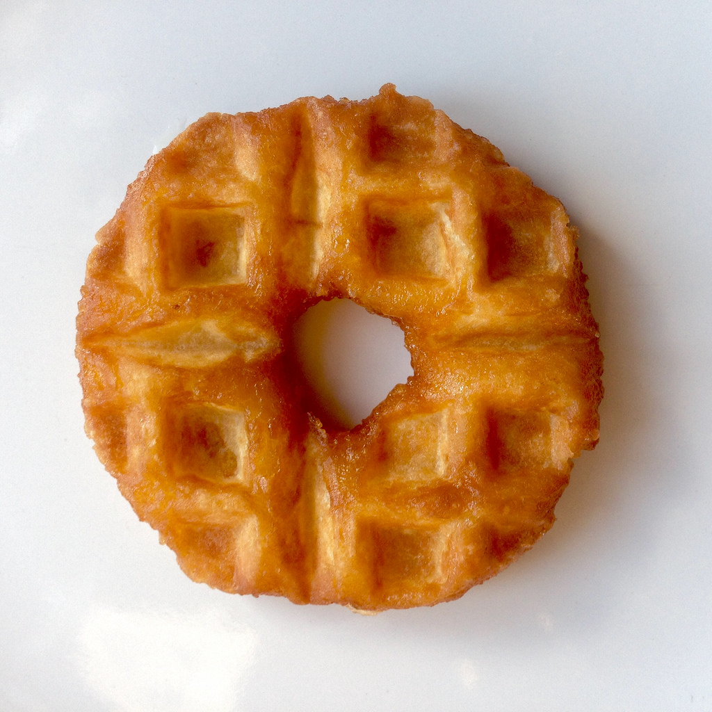 FYI: WAFFLES ARE NOT DOUGHNUTS