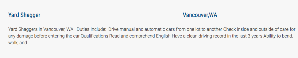 This is not the most grammatically correct job posting, but the title put a smile on my face.
