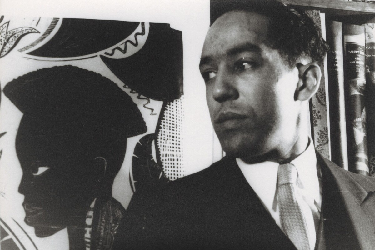 Poet and activist Langston Hughes