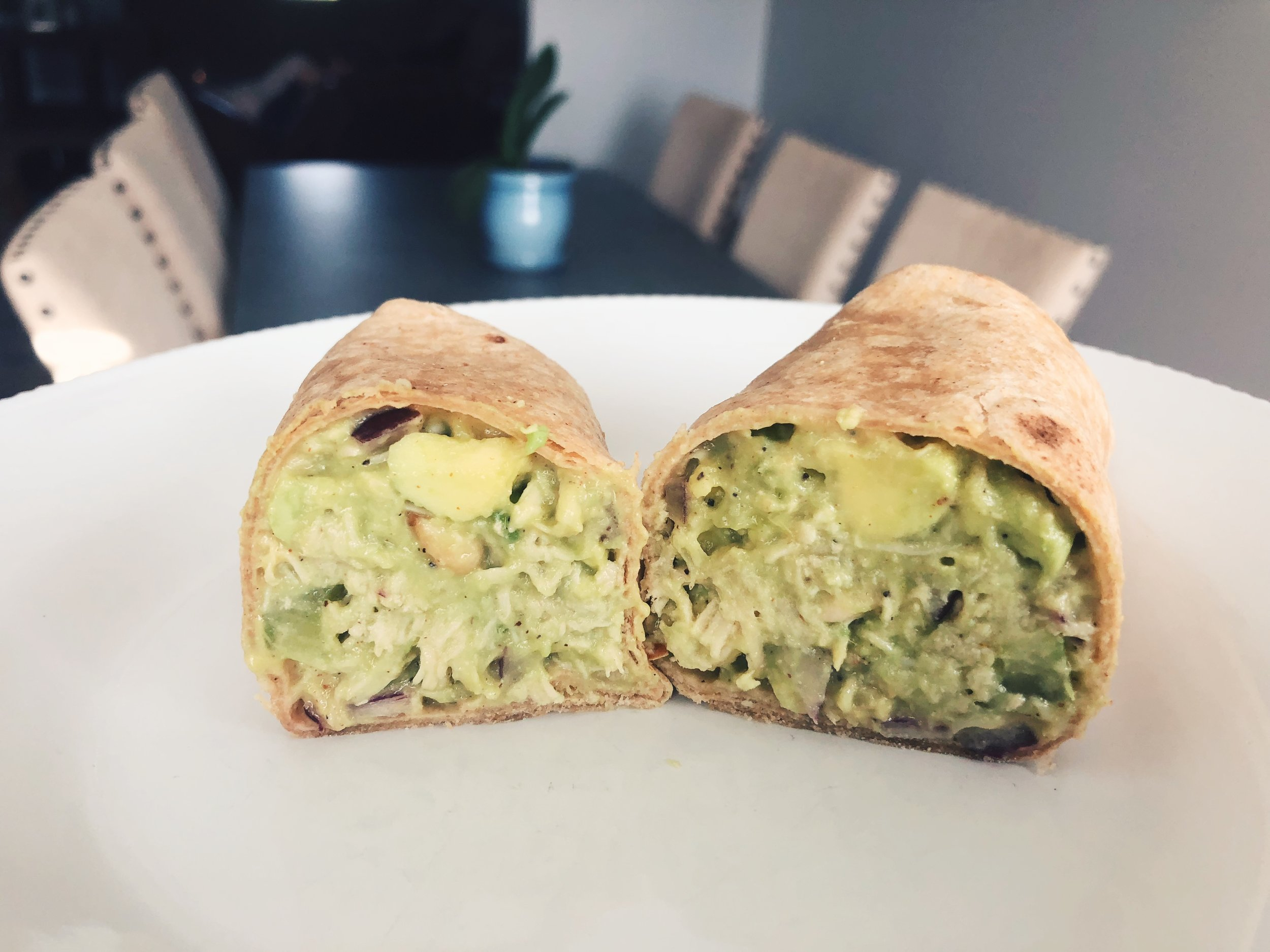 avocado-chicken-salad-wrap