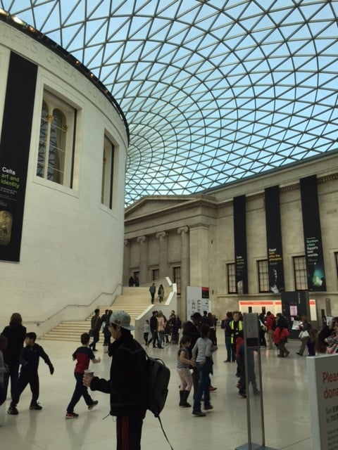 The Great Court at the British Museum.