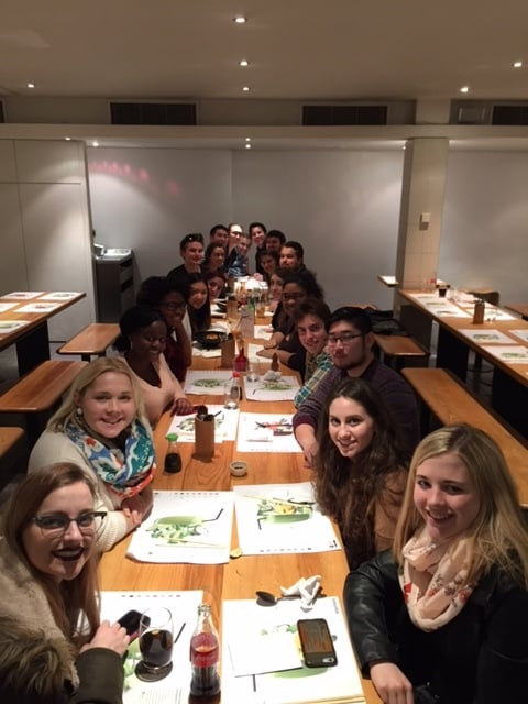 DGHS London 2016 at Wagamama for our final group dinner!