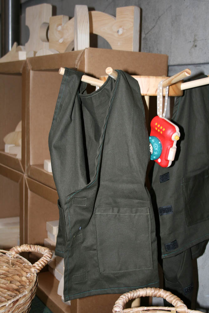 Explorer vests, 'Are we there yet?' in Play Pod for State Library Victoria.
