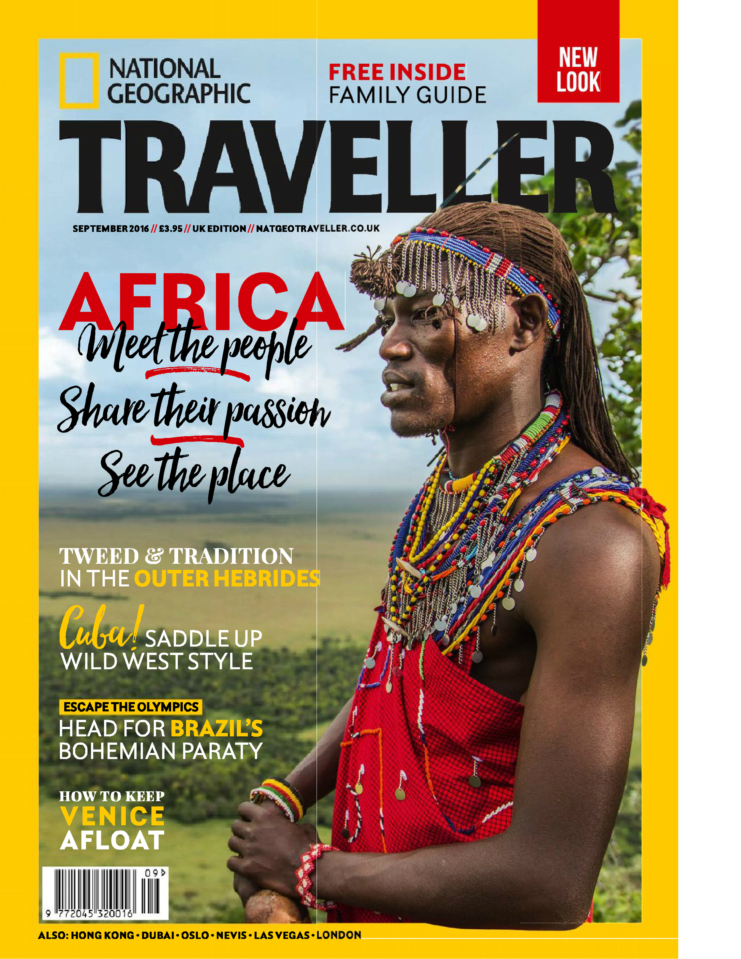 National Geographic Traveller cover