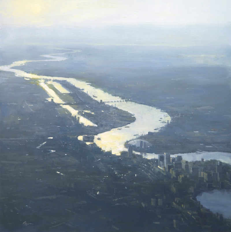 The Thames, 6:15 at 3000 meter 40x40