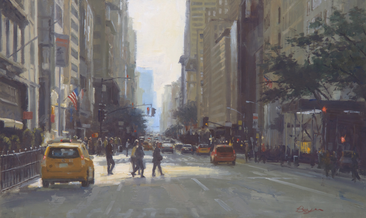 48th Street Crossing 18x30