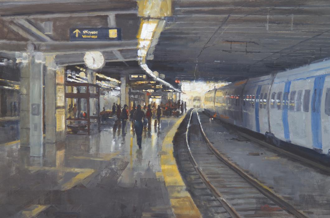 Stockholm - T-Centralen 24x36