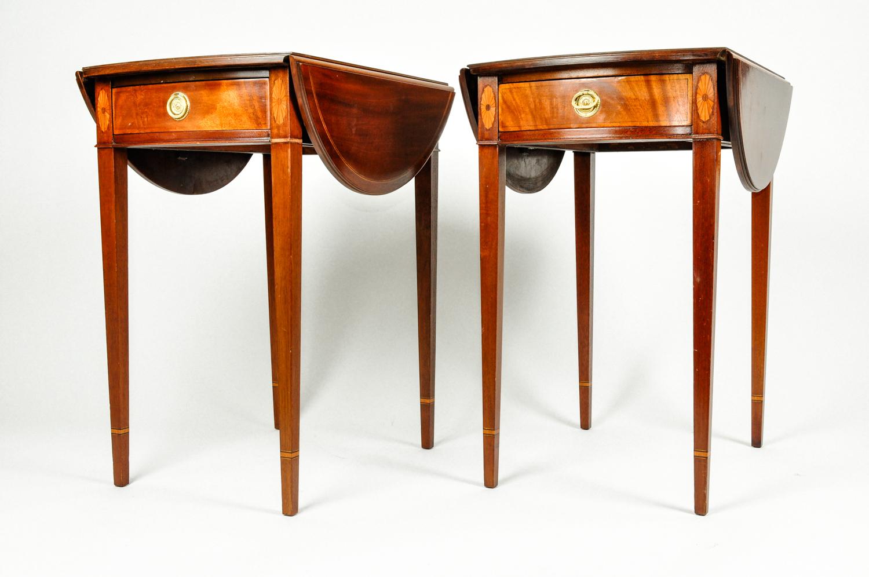 Pair Of Pembroke Drop Leaf Side Tables