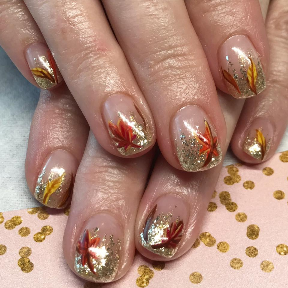 Photo from Glitterbox Nail Studio's  Facebook page . See? They got the glittery nails did.