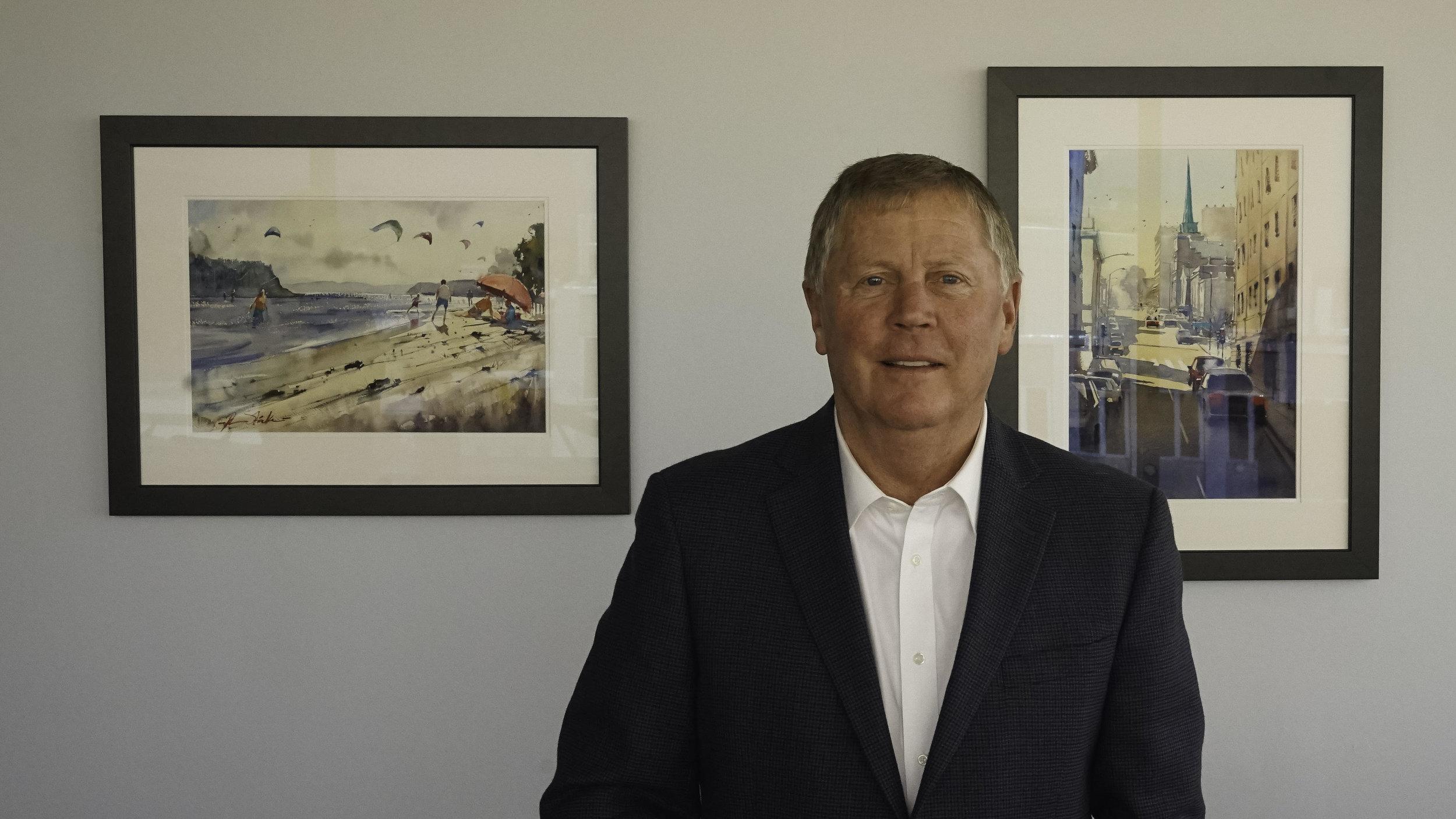 Mayor Ray Stephanson