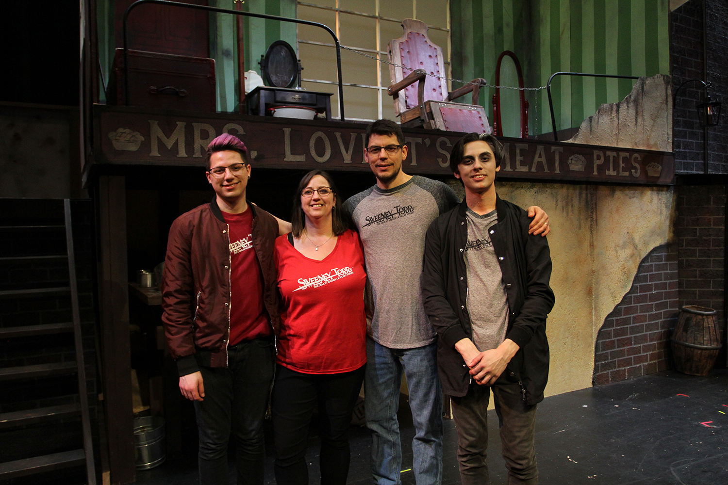 From left to right: Steven, Cheryl, Mario, and Erik Ortiz.