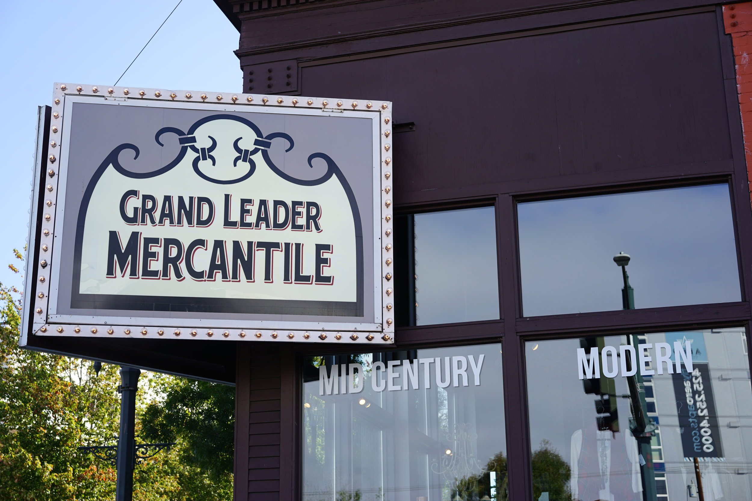 The new Grand Leader Mercantile is part of the renaissance of Hewitt Avenue and downtown Everett // Richard Porter