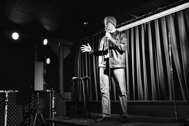 Blake Kiltoff kicking off the show // Garret Hunt