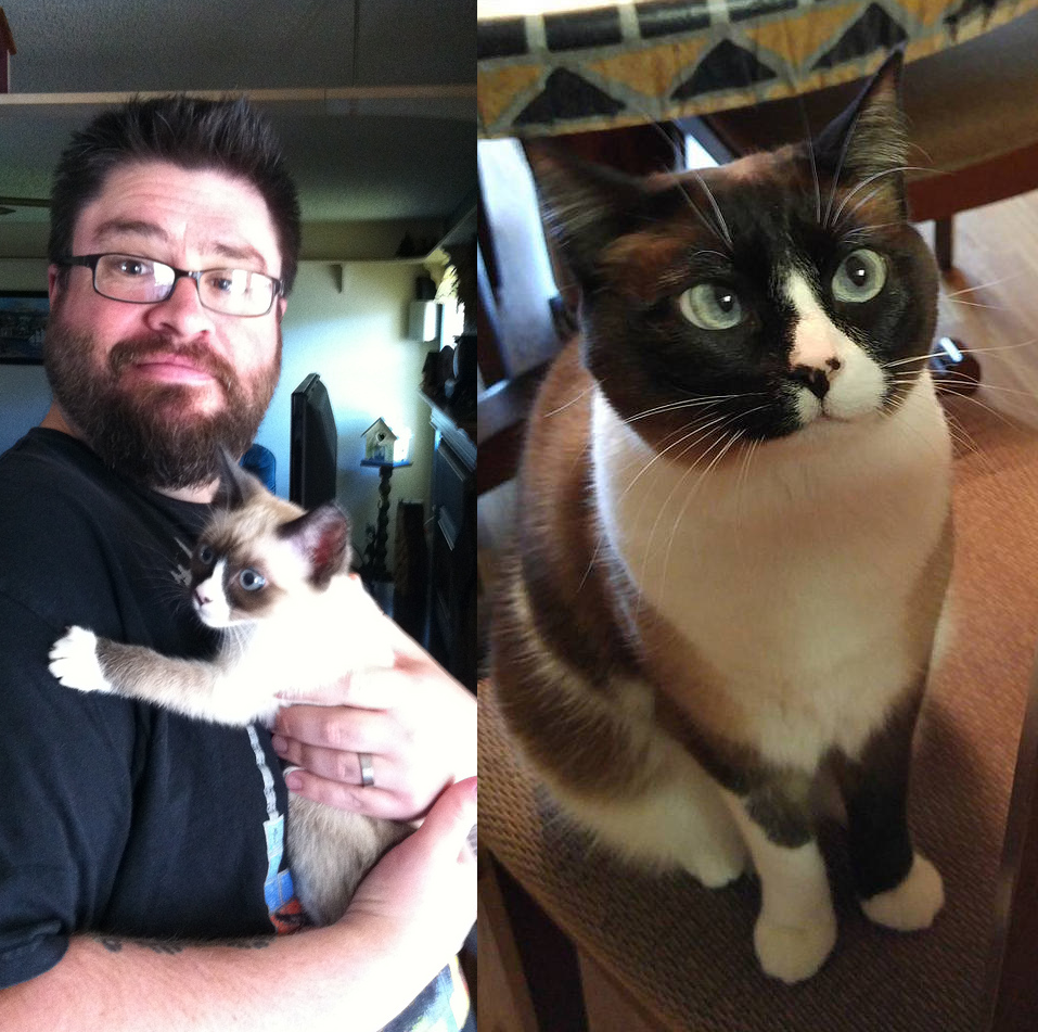 Bella then and now // Christopher Bragg
