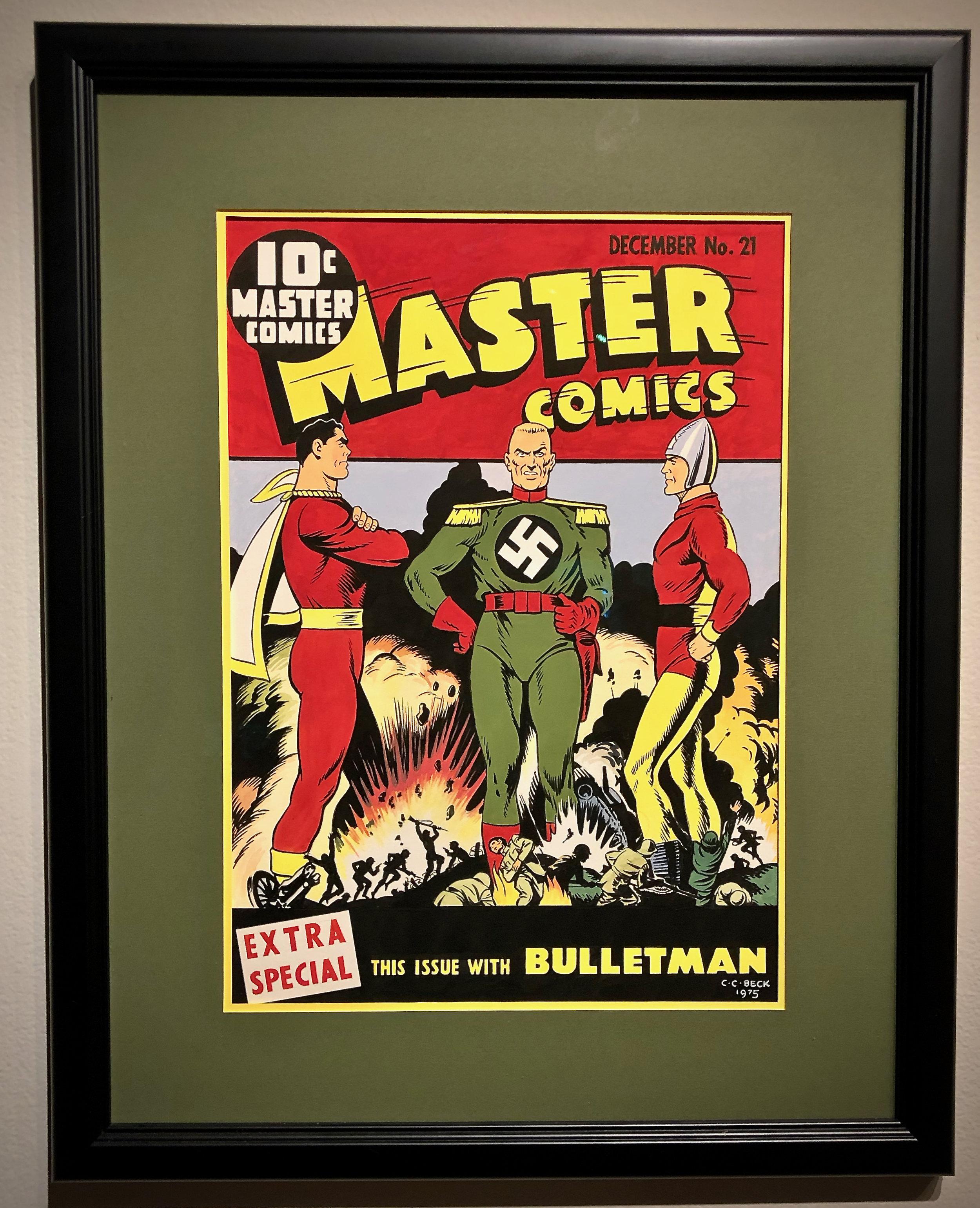 Captain Marvel, Captain Nazi and Bulletman // Henry J