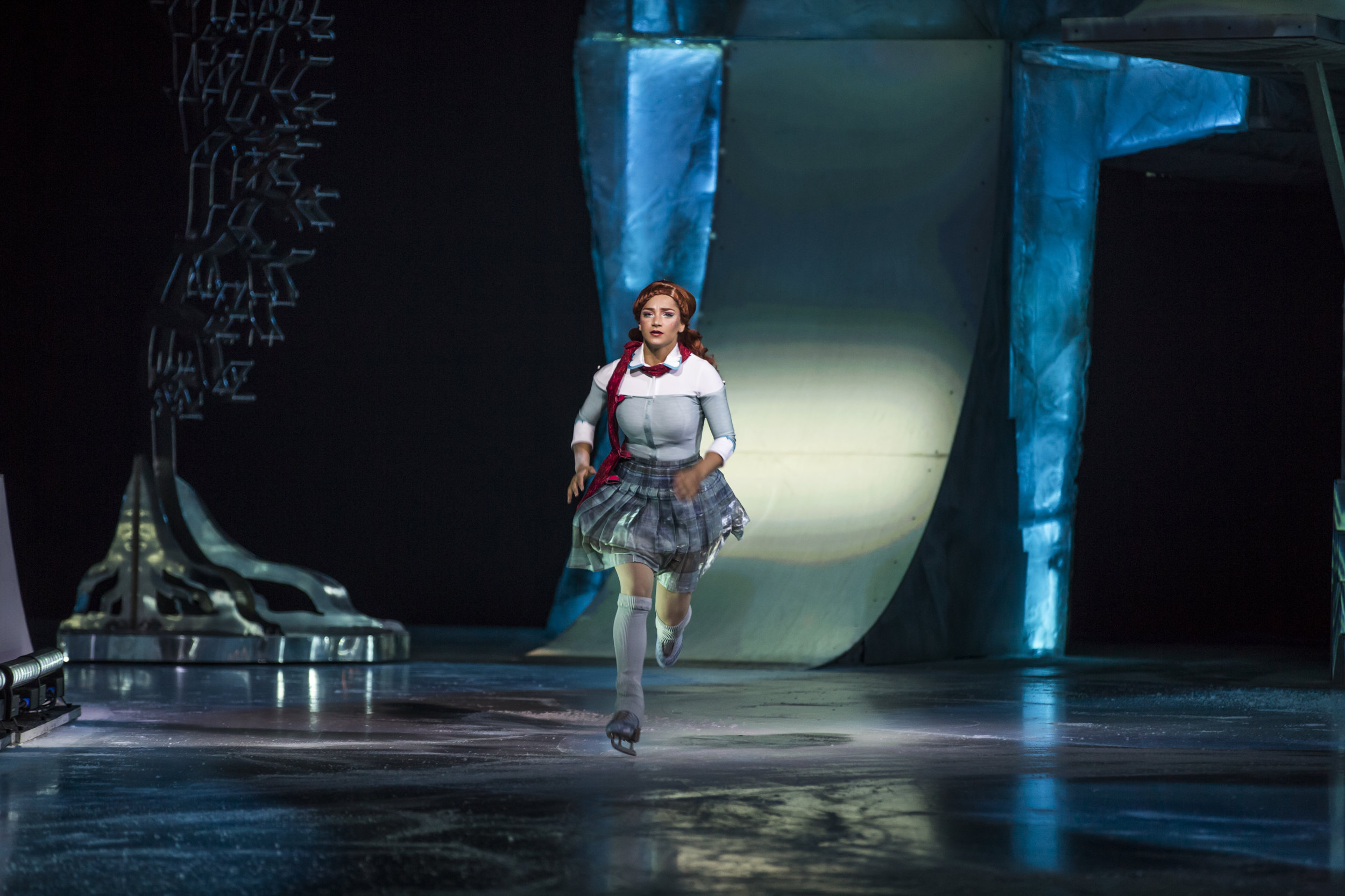Crystal, the main character and namesake of the production // Courtesy Cirque Du Soleil