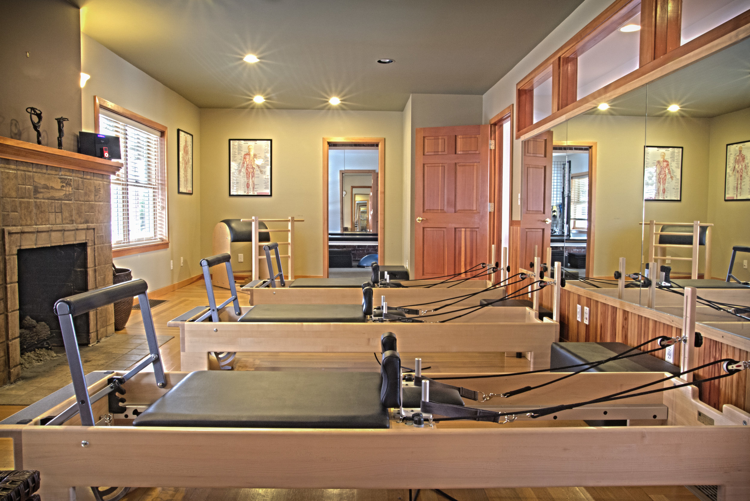 Pilates by the Bay's studio space // Laura Chism