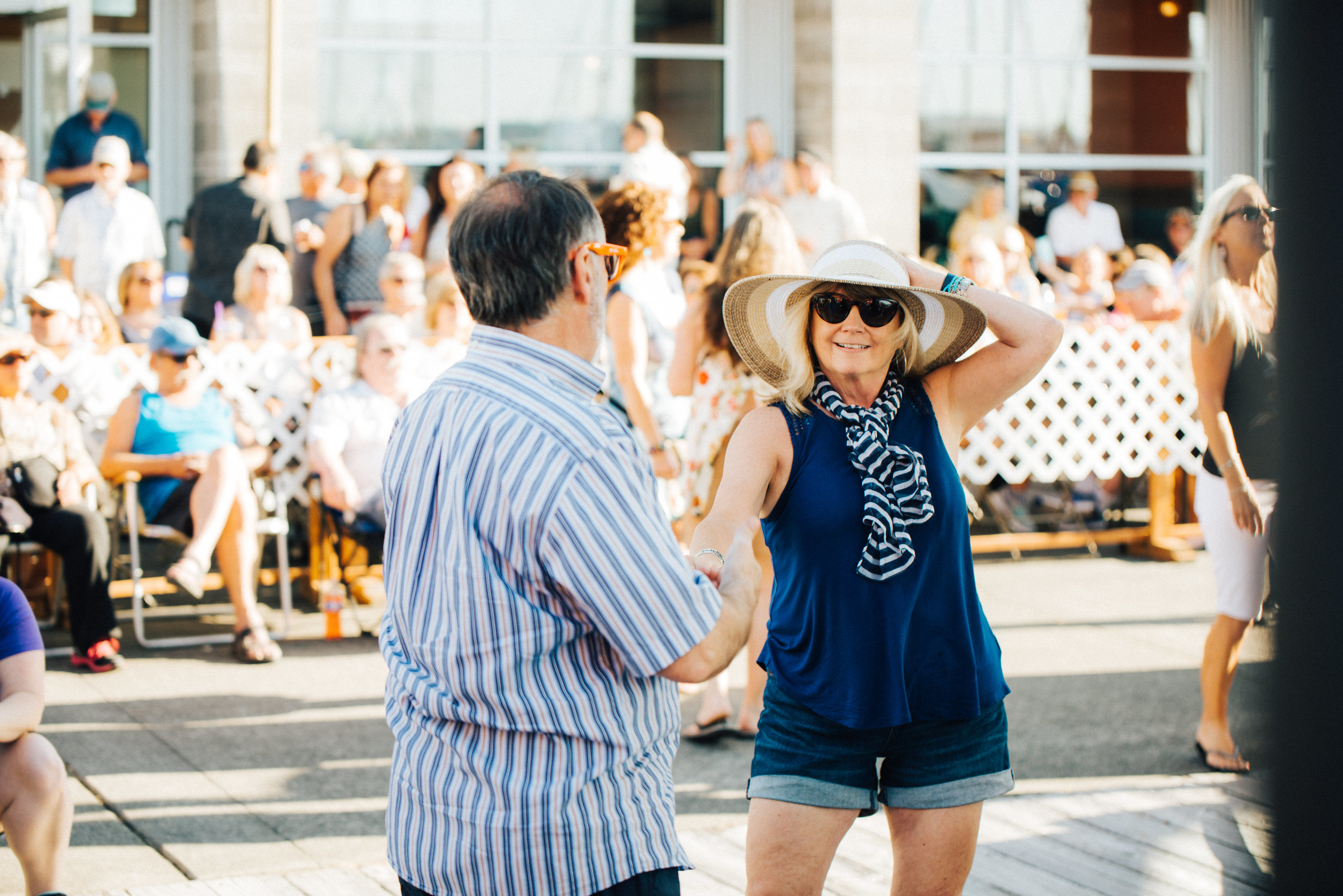 Dancers at Music at the Marina // Courtesy of Jake Campbell