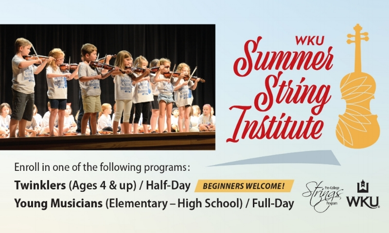 Western Ken   tucky University Summer String Institute