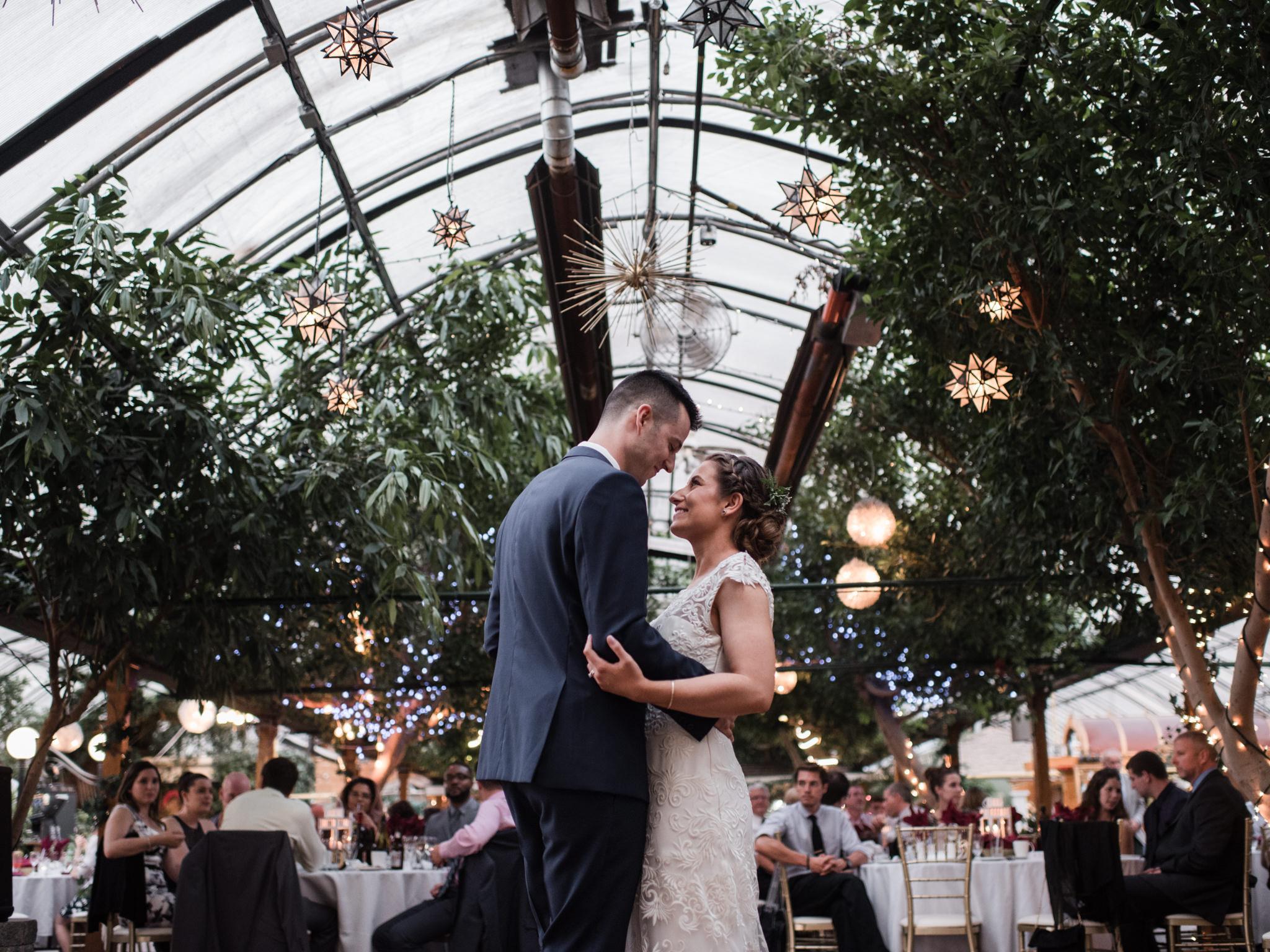 Madsen's greenhouse wedding
