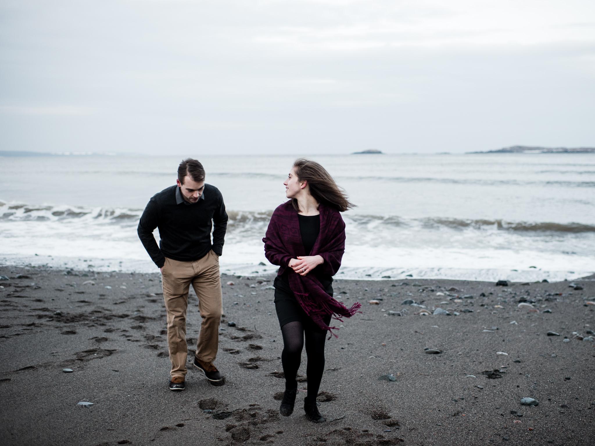 Irving Nature Park Saint John Engagement Photos - Halifax Wedding Photographer