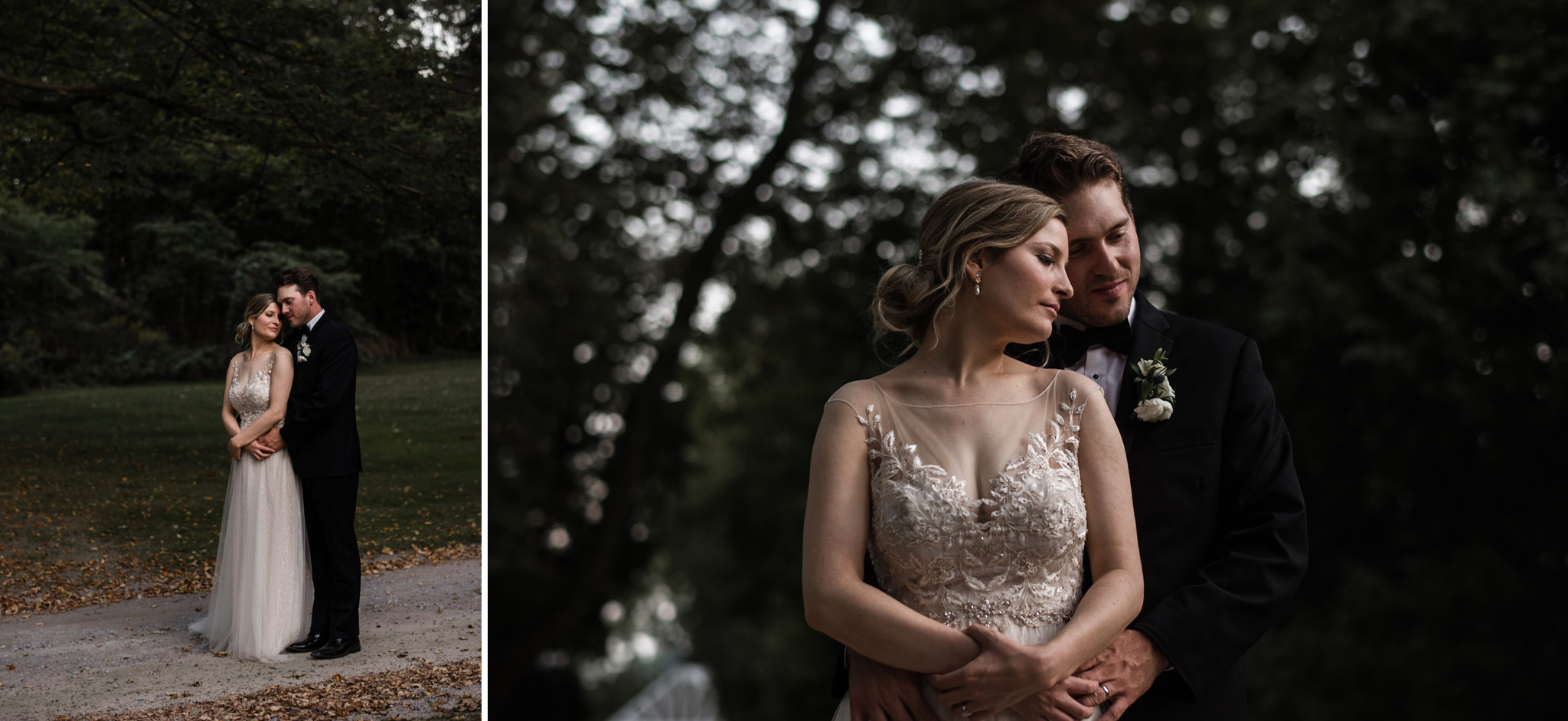 228-elegant-wedding-dress-couple-portraits-penryn-park-toronto-photographer.jpg