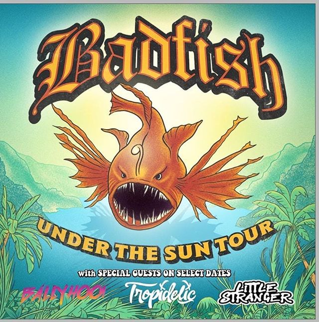 Imagine a future where @badfishsublimetribute & @tropidelic & LS teams up for a wild tour.... That future is 2020! Grab some pre-sale tix now, while their still hot and futuristic! 1.14 | The Orange Peel - Asheville, NC 🍊 1.15 | The State Theatre - Greenville, NC 🍊 1.16 | Lincoln Theatre - Raleigh, NC 🍊 1.19 | The NorVA - Norfolk, VA 🍊 . February  2.5 | Saint Andrew's Hall - Detroit, MI 🍊 2.6 | Mercury Ballroom - Louisville, KY 🍊 2.7 | House of Blues Chicago - Chicago, IL  2.8 | The Pageant - St. Louis, MO -  2.11 | The Rex Theater - Pittsburgh, PA 🍊 2.13 | Town Ballroom - Buffalo, NY 2.14 | Newport Music Hall - Columbus, OH 🍊 2.15 | Clyde Theatre - Fort Wayne, IN 🍊 2.16 | The Intersection - Grand Rapids, MI 🍊 🍊= w/ Tropidelic  #underthesuntour #badfish #Badfishtour #badfishsublimetribute #sublimetribute #sublime #tropidelic #littlestranger #Ballyhoo #live music #