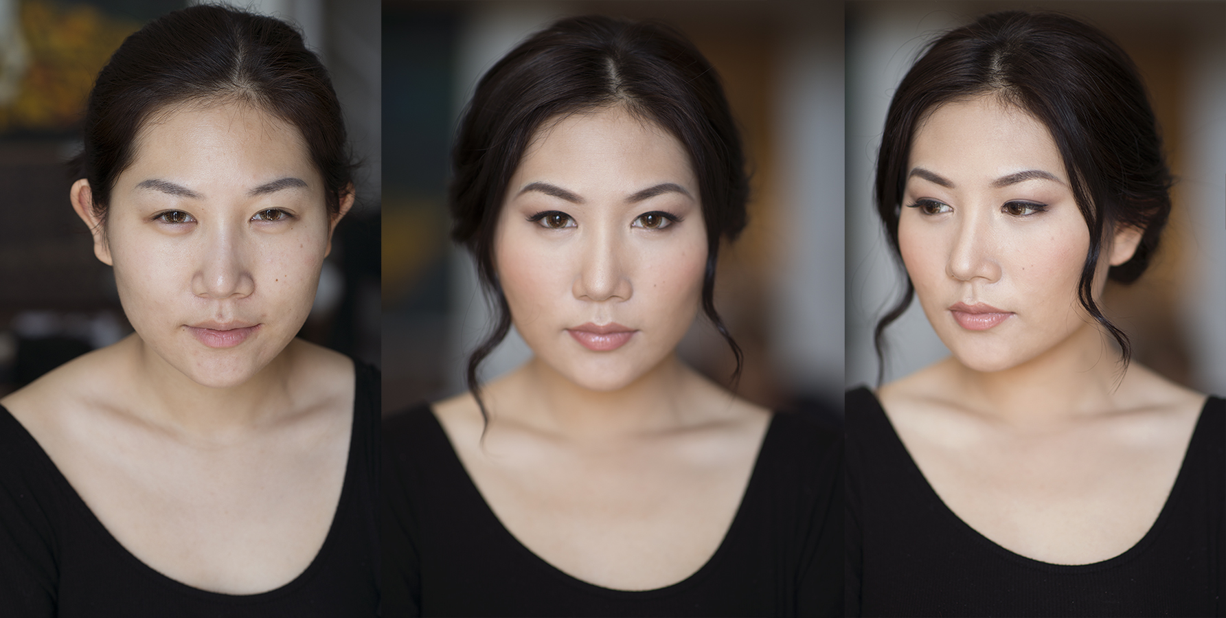 Bridal makeup trial  by Beauty Affair Agne asian chinese beauty bride to be flawless natural glowing skin.jpg